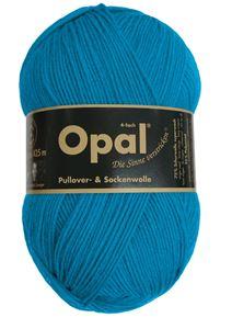 Bild von Opal uni 4 fach  / 5183 Türkis
