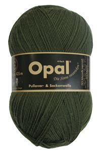 Bild von Opal uni 4 fach  / 5184 Olivgrün