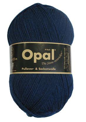 Bild von Opal uni 4 fach  / 5187 Petrol