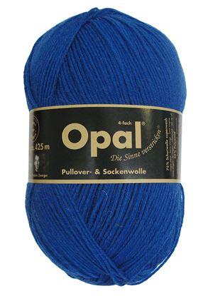 Bild von Opal uni 4 fach  / 5188 Blau