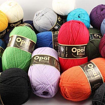 Bild von Pullover & Sockenwolle Opal Uni 4-fach  100g
