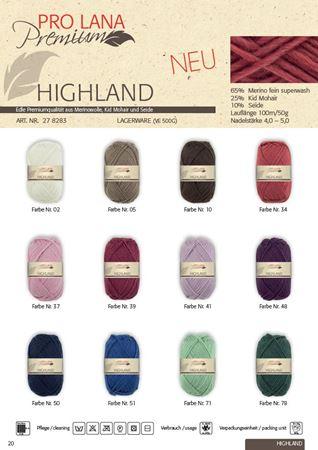 Bild für Kategorie Pro Lana Highland 50g