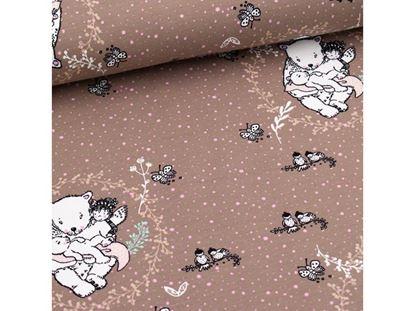 Bild von Bärenliebe Summersweat von Lillestoff 1 Meter x 1.60 Meter
