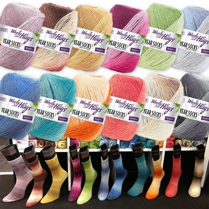 Bild von Woolly Hugs Year Socks 100g