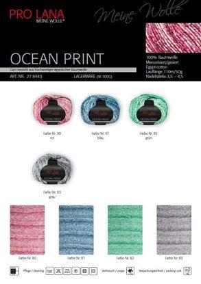 Bild von Pro Lana Ocean Print 50g