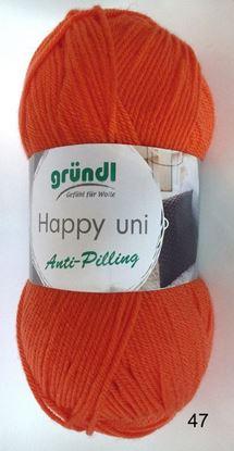 Bild von Gründl Happy Antipilling  100 Gramm Orange 47