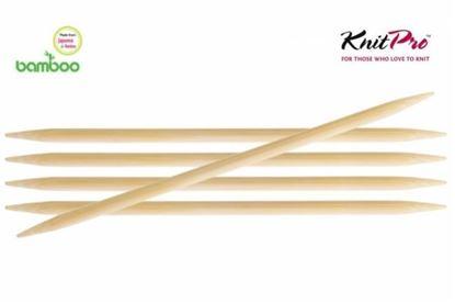 Bild von Knit Pro Bamboo Nadelspiel  15 cm