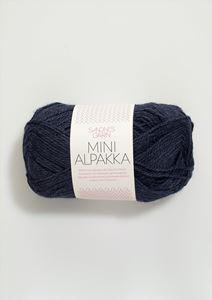 Bild von Mini Alpaka -Tiefblau-6081