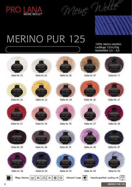 Bild von 500 Gramm Pro Lana Merino pur 125