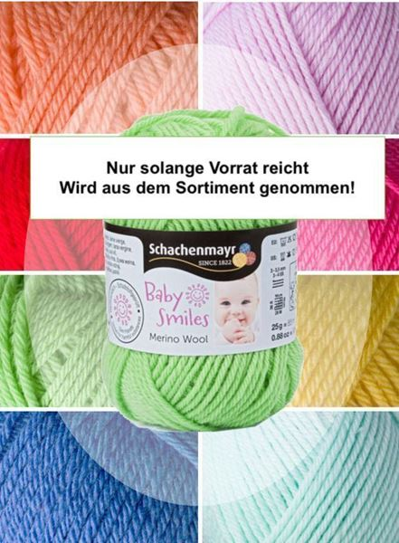 Bild von Schachenmayr Baby Smiles Merino Wool 25g./85m