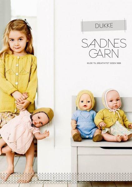 Bild von Anleitungen Sandnes Magazin Puppen und Newborn Thema 54
