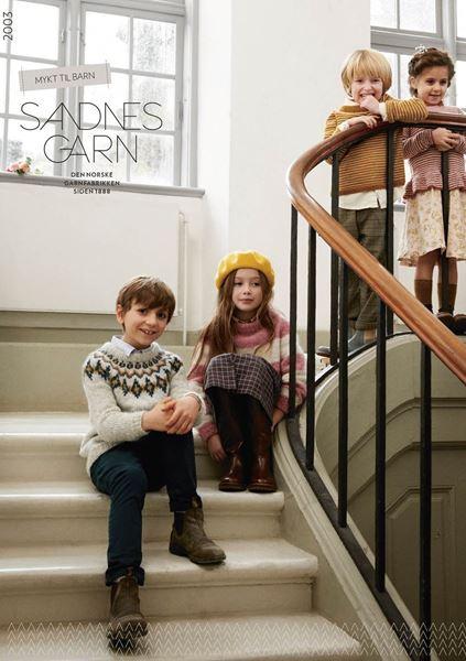 Bild von Anleitungen Sandnes  Heft Kinder 2003