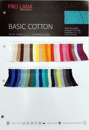 Bild von Pro Lana Echtgarn Farbkarte Basic Cotton