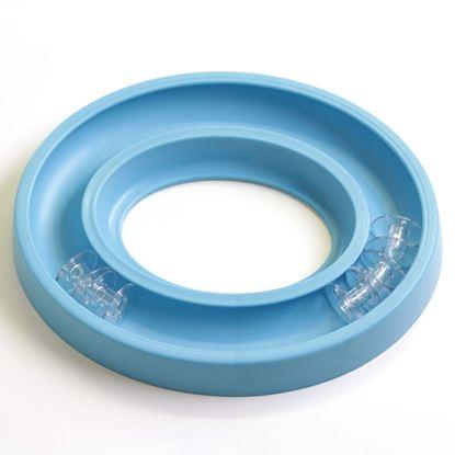 Bild von Bobbin Ring blau für 30 Unterfadenspulen