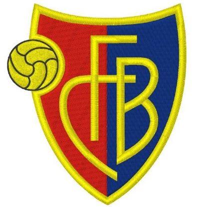 Bild von FCB Bügelbild Aufnäher
