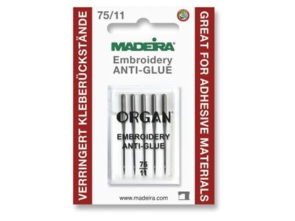 Bild von Madeira Maschinennadel / Anti-Glue Nadel   75/11